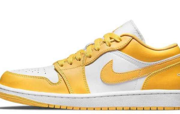 553558-171 Air Jordan 1 Low Pollen is Available Now